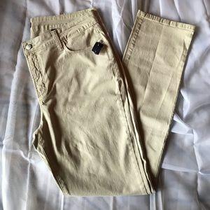NYDJ Khaki Skinny Jeans